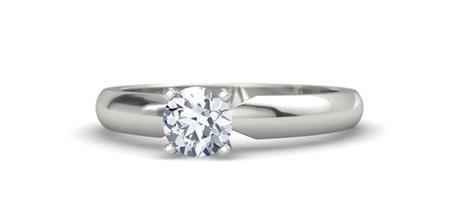 Round-Cut Ara Ring