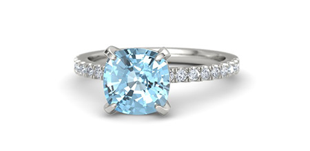 Cushion-Cut Candace Ring